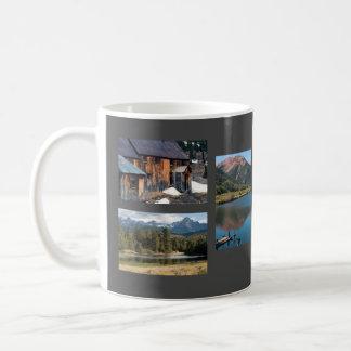 Colorados San- JuangebirgsFoto-Schablone Kaffeetasse
