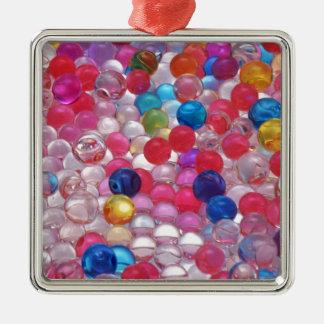 colore Gelee-Ballbeschaffenheit Silbernes Ornament