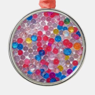 colore Wasserbälle Silbernes Ornament