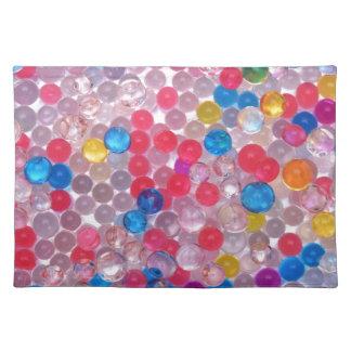 colore Wasserbälle Stofftischset