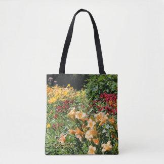 Colorfuil mittlere Sommer-Garten-Blumensträuße! Tasche