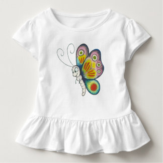 Colorful Butterfly Kleinkind T-shirt