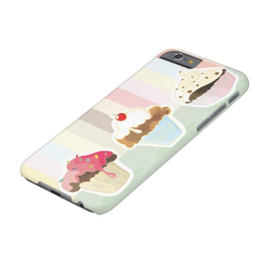 colorful cupcake phonecase barely there iPhone 6 hülle