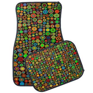 Colorful dots automatte