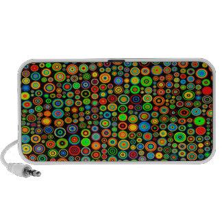 Colorful dots PC lautsprecher