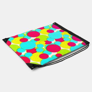 Colorful dots turnbeutel