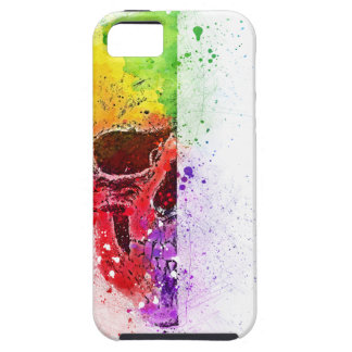 Colorful Skull - Farbiger Totenkopf iPhone 5 Hülle