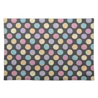 Colorful urban confetti dots modern schick gefällt tisch set