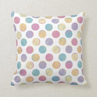 Colorful urban dots schick modern teenage pillow zierkissen