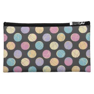 Colorful urban polka dots black schick cosmetic ba