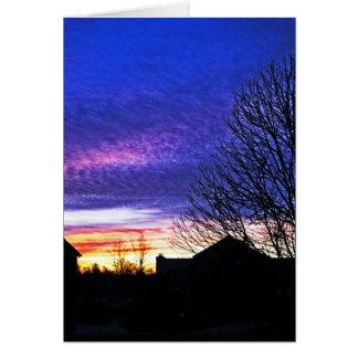 Colorfun Sonnenaufgang in Cincinnati Karte