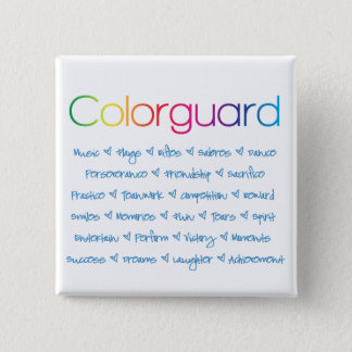 Colorguard Quadratischer Button 5,1 Cm