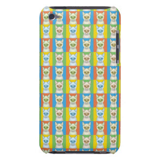 Colorpoint Shorthair Katzen-Cartoon Pop-Kunst Barely There iPod Case