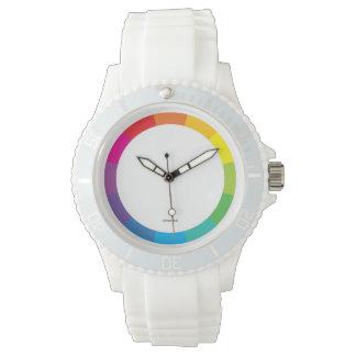 ColorWheel sportliche Armbanduhr