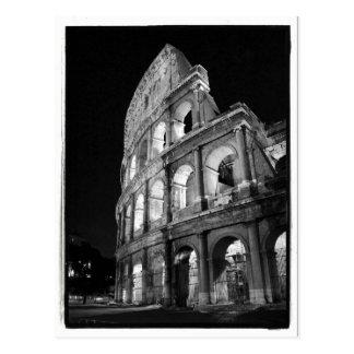 Colosseum an der Nachtpostkarte Postkarte