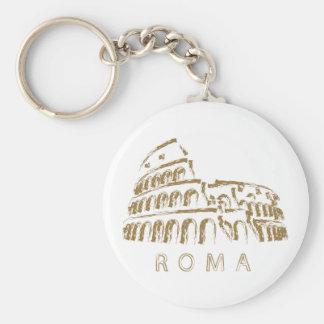 Colosseum Rom Keychain Standard Runder Schlüsselanhänger