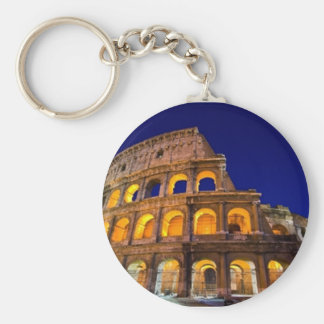Colosseum Rom Standard Runder Schlüsselanhänger