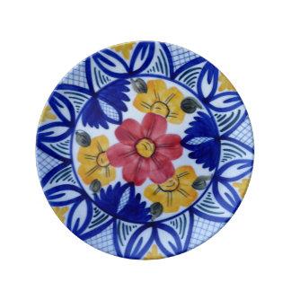 "Colourfull Blume 8,5"" dekorative Porzellan-Platte Teller Aus Porzellan"