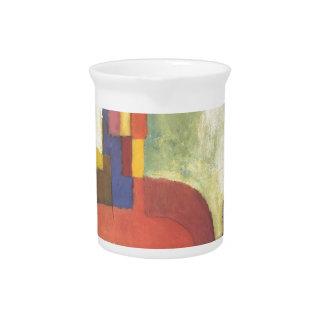 Colourfull formt bis August Macke Krug