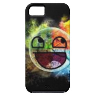 colourfull Gesicht iPhone 5 Cover