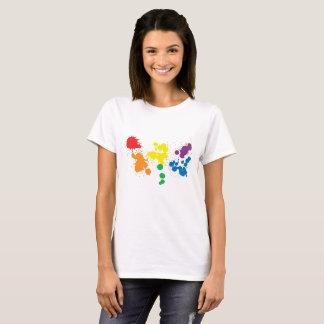 colourfull Spritzen T-Shirt