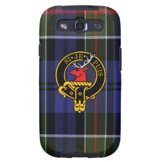 Colquhoun schottisches Wappen und Tartan S3 rufen Hülle Fürs Galaxy SIII