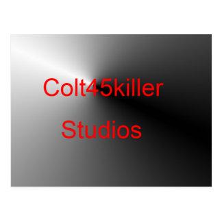 Colt45kiler Studio-Einzelteile Postkarte