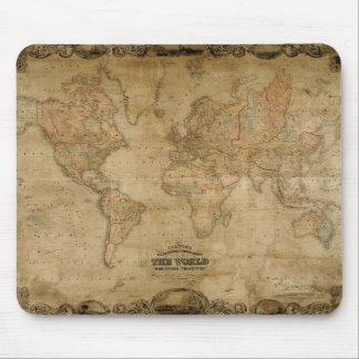 Coltons antike Karte Mousepad