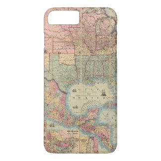 Coltons Eisenbahn und Militärkarte iPhone 8 Plus/7 Plus Hülle