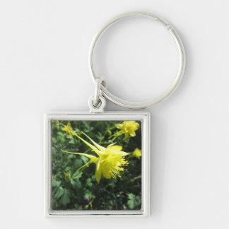 Columbine-Blume Schlüsselanhänger