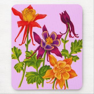 columbine Blumen Mousepad