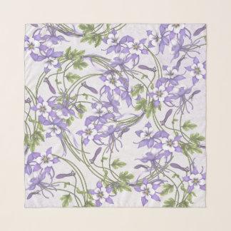 Columbine-Blumenstrauß Schal