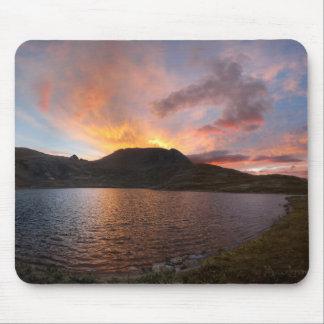 Columbine See-Sonnenaufgang - Weminuche Wildnis Mousepad