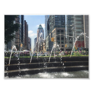 Columbus-Kreis-Architektur New York City NYC Fotodruck