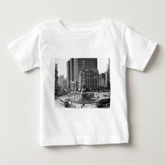 Columbus-Kreis-Vintager Objektträger Baby T-shirt