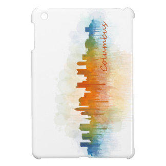 Columbus Ohio, City Skyline, v3, iPad Mini Schale