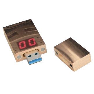 COM gegen COM/Cochranizer zucken grellen Antrieb Holz USB Stick