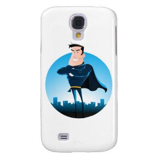 Comic-BlauSuperhero Galaxy S4 Hülle