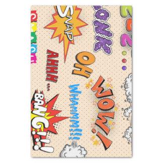 Comic-Buch-Art-Ausdruck-Entwurf Seidenpapier