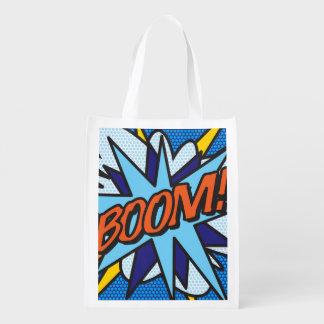 Comic-Buch BOOM! Wiederverwendbare Einkaufstasche