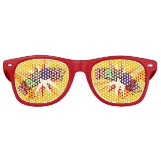 Comic-Buch KA-POW! Partysonnenbrillen