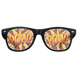 Comic-Buch-Pop-Kunst KRIEGSGEFANGEN! Sonnenbrille