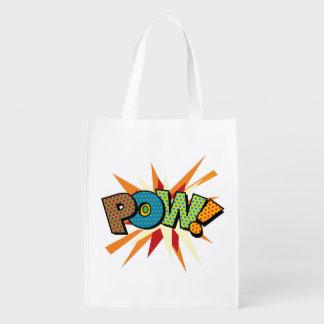 Comic-Buch-Pop-Kunst KRIEGSGEFANGEN! Wiederverwendbare Einkaufstasche