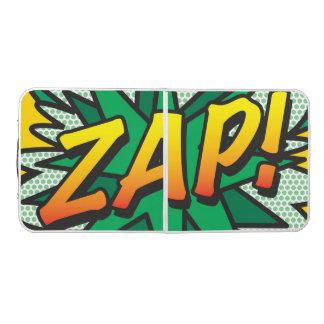 Comic-Buch-Pop-Kunst ZAP! Beer Pong Tisch