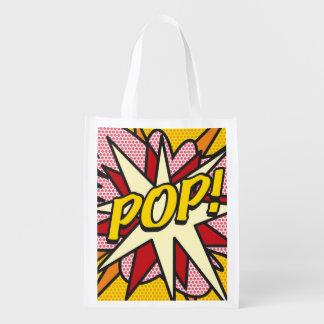 Comic-Buch POP! Wiederverwendbare Einkaufstasche