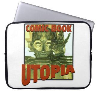 """Comic-Buch Utopie 15"""" Laptop-Abdeckung Laptop Computer Schutzhülle"""