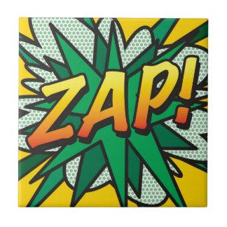 Comic-Buch ZAP! Kleine Quadratische Fliese