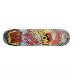 Comic-BuchSkateboard Individuelle Skateboards
