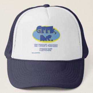 Comic-Fernlastfahrer-Hut Geek, Inc. Truckerkappe