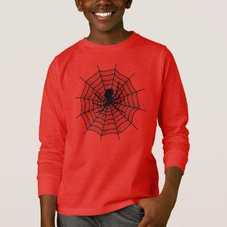 COMIC-inspiriertes SPINNE Netz T-STÜCK T-Shirt